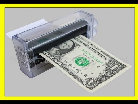 Make a money printer machine magic trick funny ideas for How to make cool stuff at home