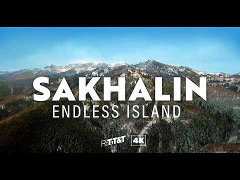 Wild Russia: 4K drone footage of Sakhalin island's breathtaking nature