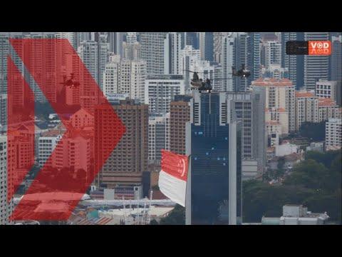 Singapore National Day Parade 2017 aerial displays