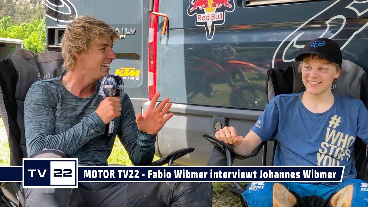 MOTOR TV22: Fabio Wibmer interviewt seinen Cousin Johannes Wibmer