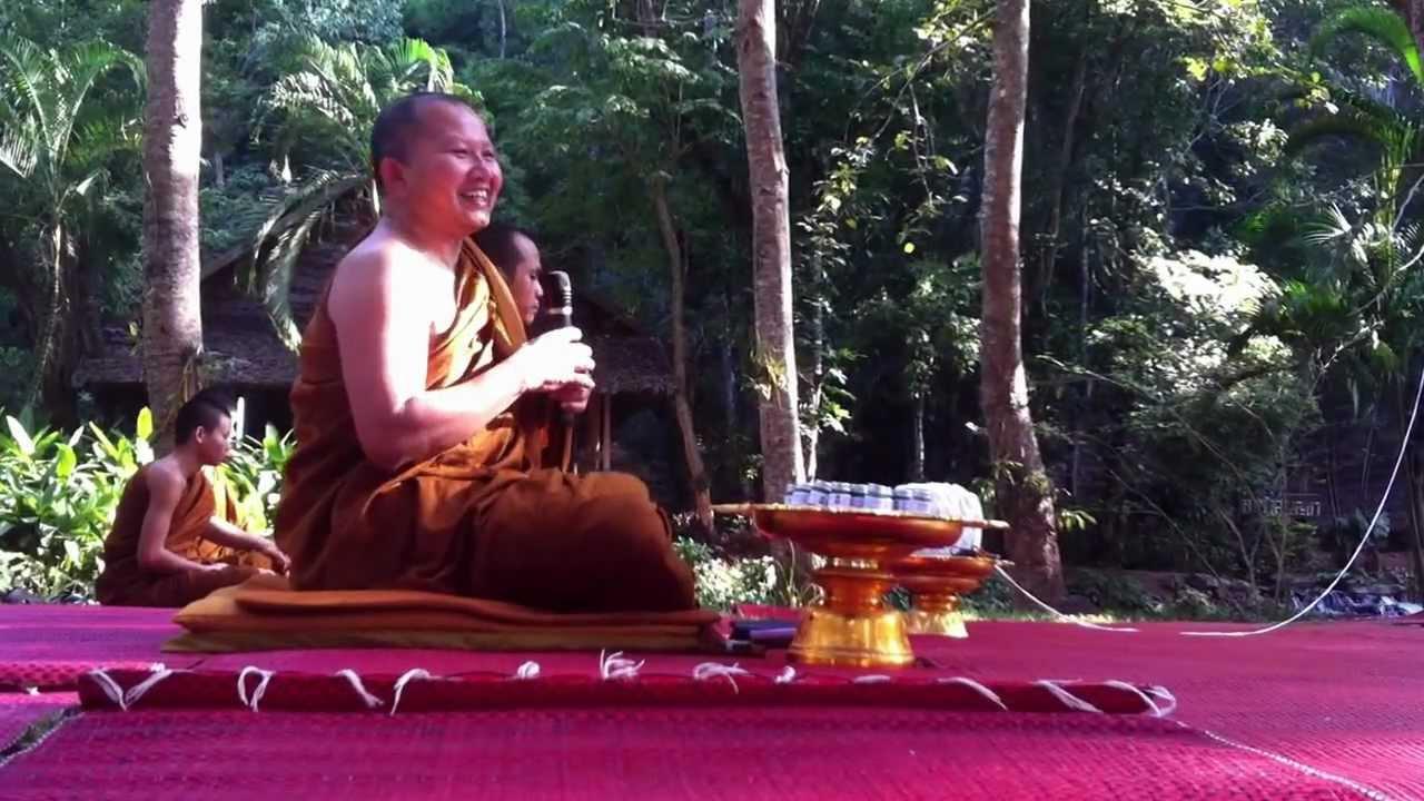 Phra Lunghta - Abbot of Wat Pa Tam Wua (Thailand, Mae Hong Son ...