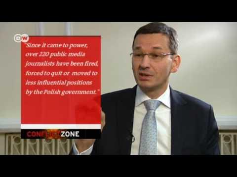 Mateusz Morawiecki w programie Conflict Zone w Deutsche Welle