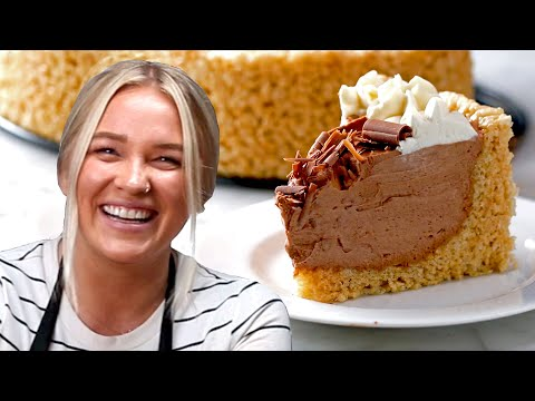 Here's How To Make Alix's Crispy Rice Cereal Cheesecake