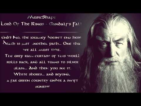Lord Of The Rings - Gandalf's Fall (The Bridge of Khazad Dum / Man Of Steel Soundtrack)