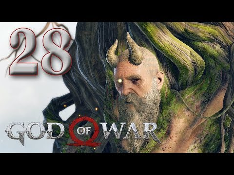 [28] God of War - I'm Going To Cut Off Your Head Now - Let's Play Gameplay Walkthrough (PS4)