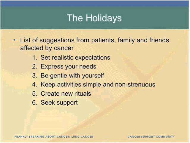 Caregivers Are Critical Team Members In Cancer Care And Treatment