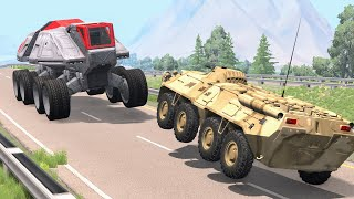 Crazy Police Chases #93 - BeamNG Drive Crashes