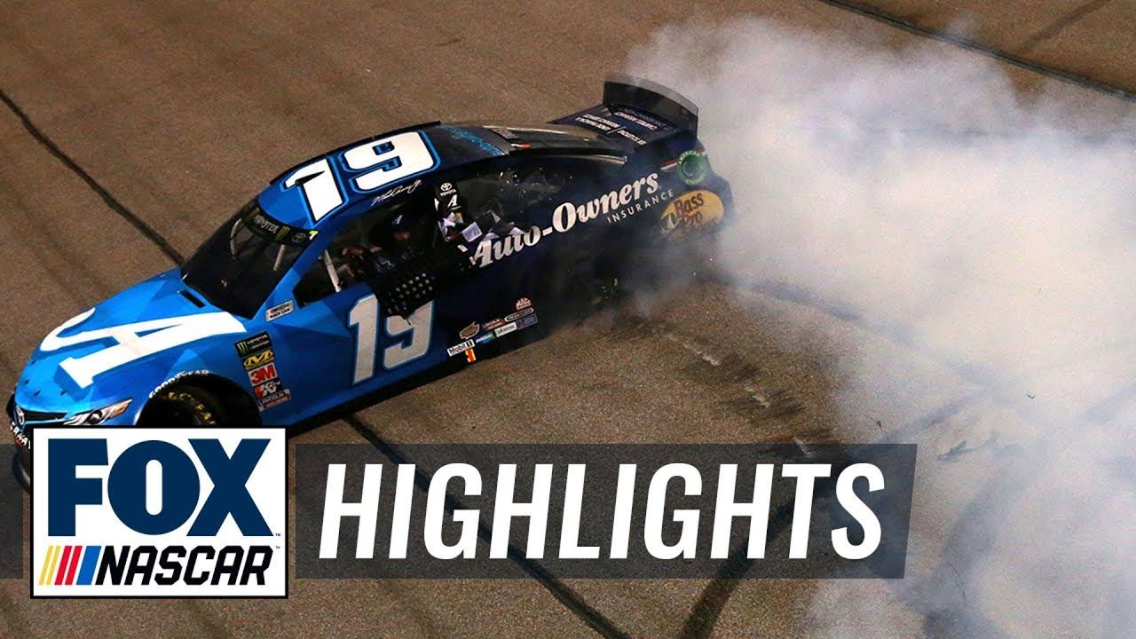 Martin Truex Jr. wins his first ever short track race | NASCAR on FOX HIGHLIGHTS