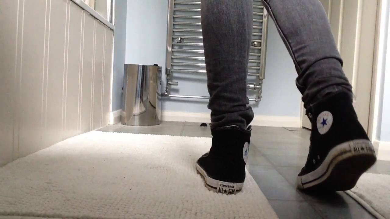 black converse hi with grey skinny jeans tucked in youtube