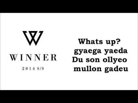 WINNER(MINO solo)- I´M HIM KARAOKE (easy lyrics)