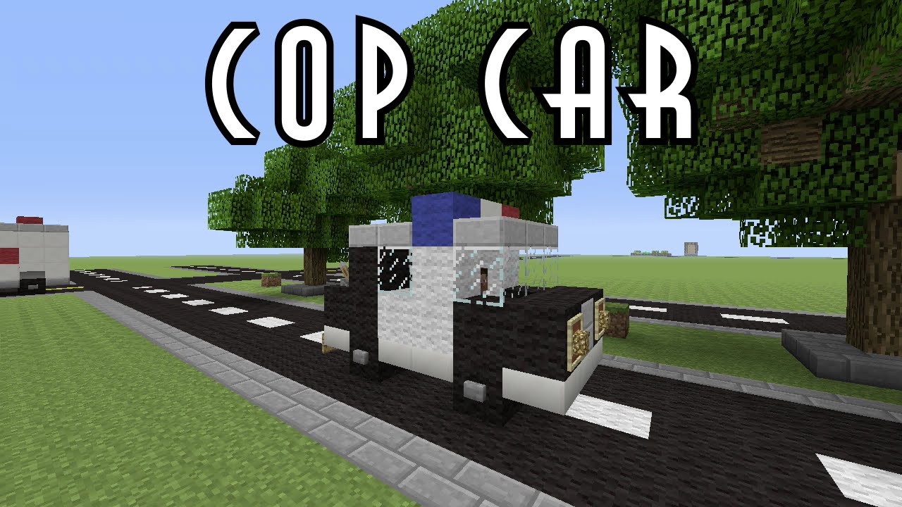 how to drive a car in minecraft