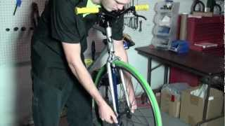 How to Disassemble a Road Bike Fork