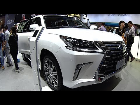 New Lexus Lx 570 2016 2017 Interior Exterior Youtube