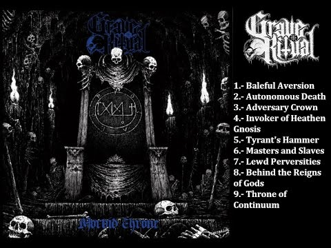 Grave Ritual - Morbid Throne   Full Album (2015)