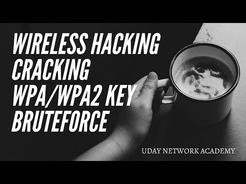 Wireless WPA/WPA2  password cracking with Brute Force