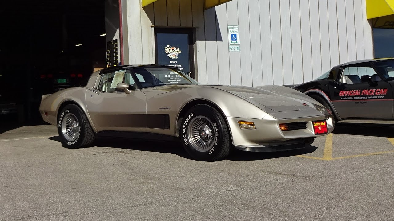 1982 Chevrolet Chevy Corvette Collector Edition Engine Sound On My Car Story With Lou Coile