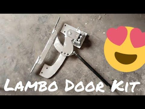 Lambo Door Kit Installations Home Made   The Ravi   Motors