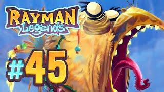 Rayman Legends - 45 - Back to Origins: Mocking the Mocking King (4 Player)