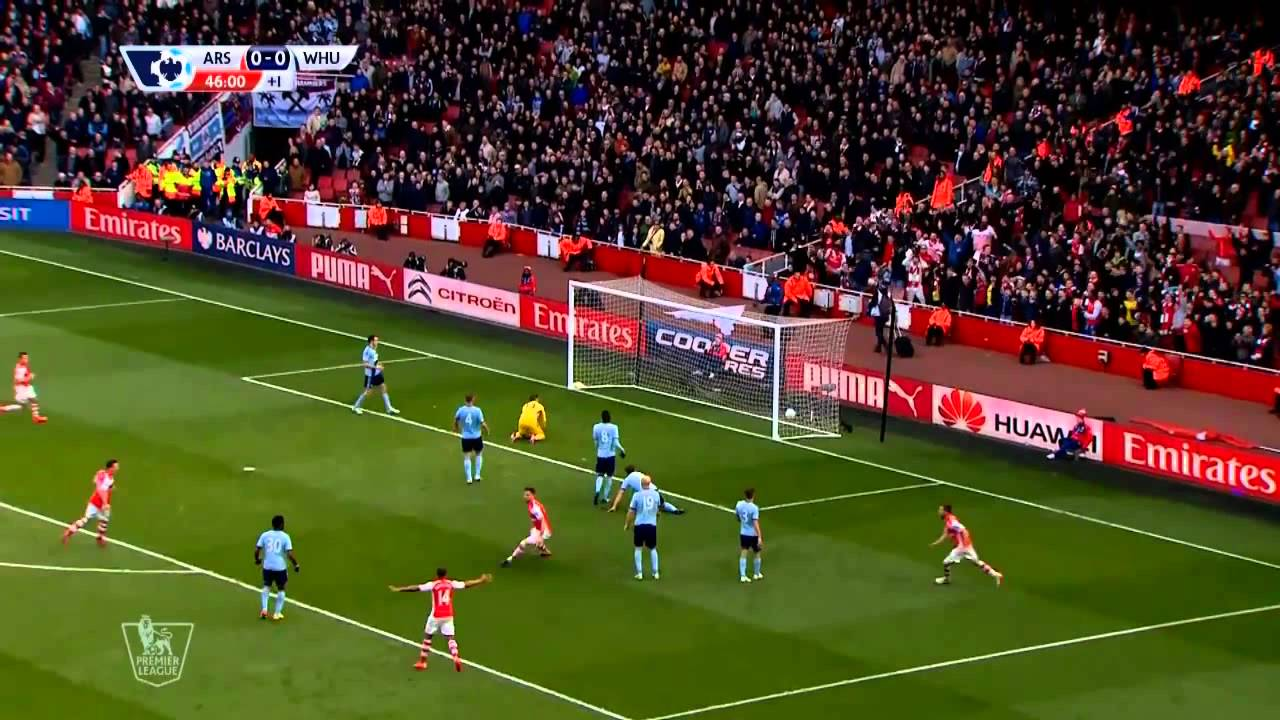 Download Arsenal vs West Ham 3-0 All Goals and highlight   2015.03.14