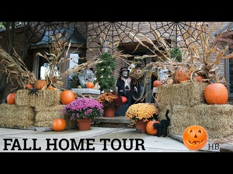 FALL HOME TOUR & DECORATING IDEAS