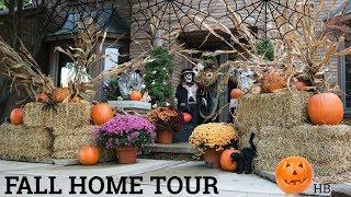 FALL HOME TOUR & DECORATING IDEAS