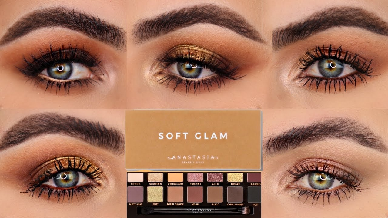 Download 5 LOOKS 1 PALETTE   FIVE EYE LOOKS WITH THE SOFT GLAM PALETTE BY ANASTASIA (ABH)   PATTY