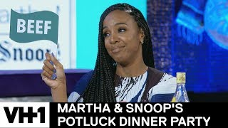 Kelly Rowland on Her Star Search Performance w/ Beyoncé | Martha & Snoop's Potluck Dinner Party