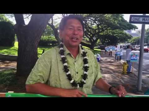 Elwin Ahu - Mahalo Hawaii for Your Votes - @ahuforhawaii