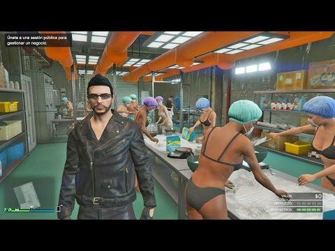 COMO TRAFICAR DROGAS!! - DLC MOTEROS GTA V ONLINE GAMEPLAY