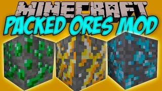 PACKED ORES MOD – Los ores mas Obesos!! – Minecraft mod 1.9 Review ESPAÑOL
