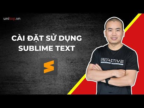 Hướng Dẫn Cài đặt Phần Mềm Sublime Text + Plugin Quan Trọng Cho Học Lập Trình Web