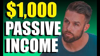 How I Made $1,000 In 1 Day In Passive Income