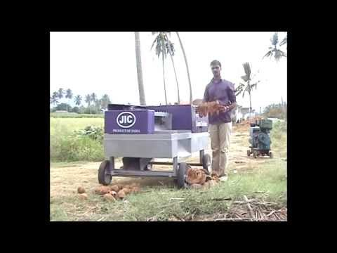 Coconut Dehusker JIC-07 Machine by Jagans Innova Cafe Company, Coimbatore