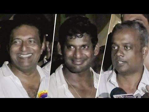 """""""No More writing Scripts in Coffee Shops"""" - Gautham Menon 