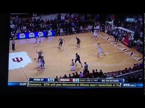 Penn State at IU scuffle