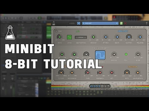 How to make a 8bit/chiptune song with miniBit