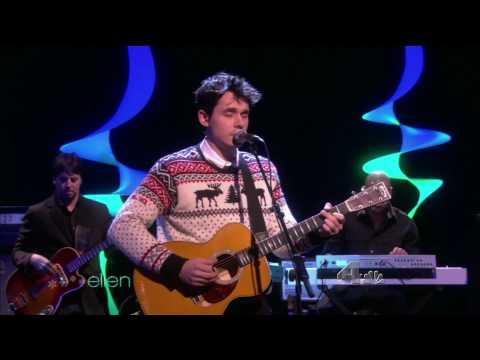 John Mayer - Who Says [Ellen Degeneres 12/15/09]