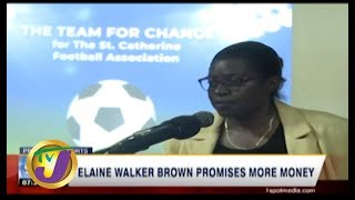 TVJ Sports News: St Catherine Football Association Elaine Walker Brown - October 12 2019