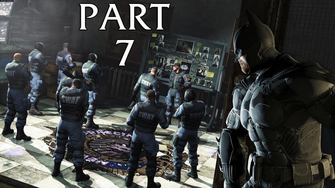 Batman Arkham Origins Gameplay Walkthrough Part 7 GCPD ...