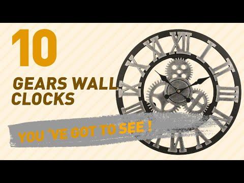 Gears Wall Clocks // New & Popular 2017