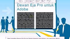Dewan Eja Pro helps you write better Malay