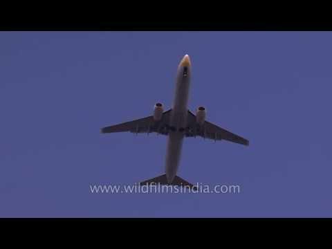 Flights over Delhi cause noise pollution