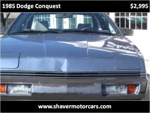 1985 dodge conquest used cars fort wayne in youtube for Shaver motors fort wayne