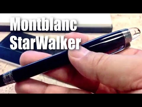 14ecdfe09b3 Montblanc StarWalker Resin Fineliner Midnight Black Pen Writing Instrument  (105656) review