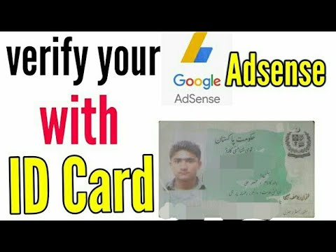 How To Verify Your Identiy In Google Adsense With National ID Card (Urdu/Hindi) 2018