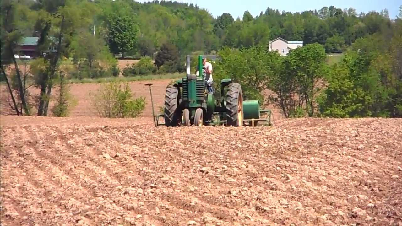 1947 John Deere G Planting Corn With 1240 Planter Part 2 Youtube