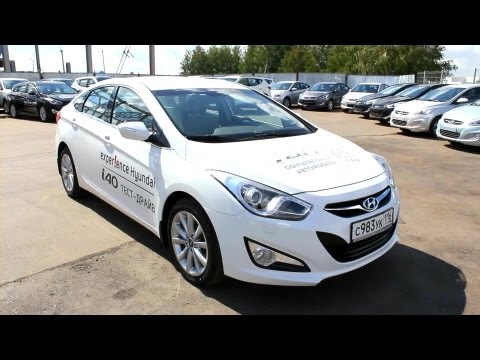 2013 Hyundai i40. Start Up, Engine, and In Depth Tour.