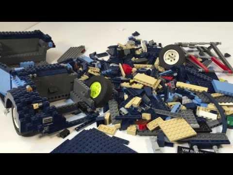 BWB UPDATE #4 10187 VW Beetle LEGO HAUL! More Parts!