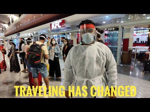 Mumbai to Bangalore flight during covid   travelling has changed