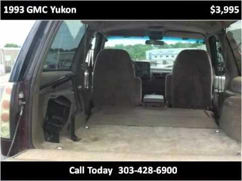 1993 Gmc Yukon Available From Choice One Motors Youtube